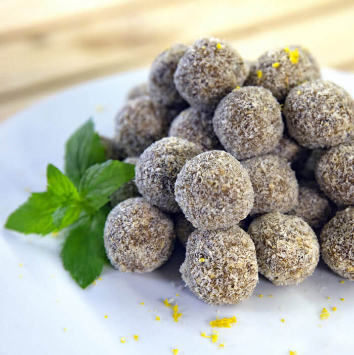 Avocado Bliss Balls